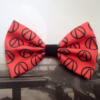 Borderlands Inspired Hair Bow or Bow Tie