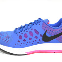 Nike Women's Zoom Pegasus 31 Blue/Pink Running Shoes 654486 400