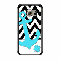Chevron Anchor Personalized Samsung Galaxy S6 Edge Case