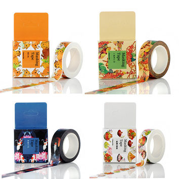 1 Pc Pack Size 15 Mm*10m Diy Yellow Bunny Washi Tapes Masking Tape Decorative Adhesive Tapes School Supplies