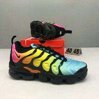 Nike Air Max Plus Tn Ultra Fashion Men Magic Color Air Cushion Sport Running Shoe Sneakers I-CSXY