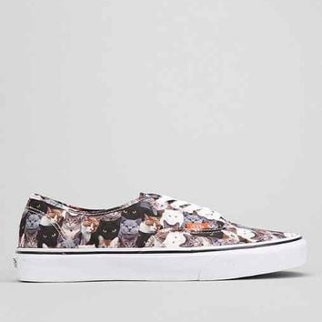 Vans X ASPCA Cats Authentic Men's Sneaker- Assorted
