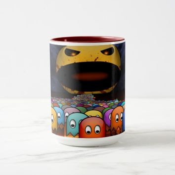 Bad Giant Pac Man Coffe Mug