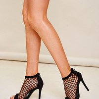 Peep Toe Hollow Out Stiletto Heels