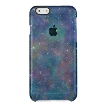 Colorful Nebula Starred Galaxy Uncommon Clearly™ Deflector iPhone 6 Case