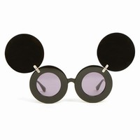 JEREMY SCOTT LINDA FARROW JS MICKEY MOUSE SUNGLASSES - WOMEN - JEREMY SCOTT - OPENING CEREMONY
