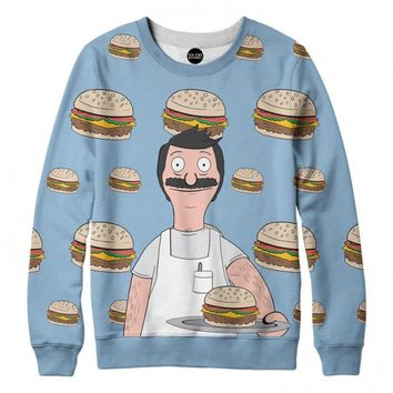 Bob's Burgers Crewneck Sweatshirt | All-Over Sublimation Sweatshirt