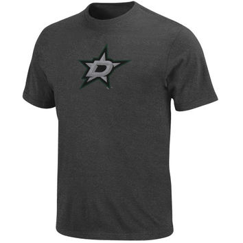 Majestic Dallas Stars Soft Hand Big Time Play T-Shirt - Charcoal