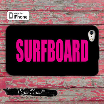 Surfboard Beyonce Inspired Pink Cute Drunk in Love Bey Queen Music iPhone 4 and 4s Case and Custom iPhone 5 and 5s and 5c Case