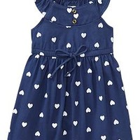 Flutter-Sleeve Jersey Dresses for Baby