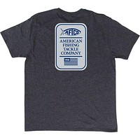 Big Boy Tee Shirt in Charcoal Heather by AFTCO