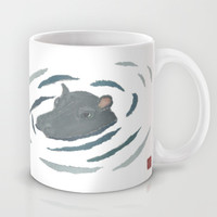 Hippo Mug by Bless Hue