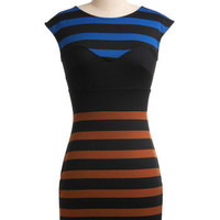 Mesmerize Your Lines Dress | Mod Retro Vintage Dresses | ModCloth.com