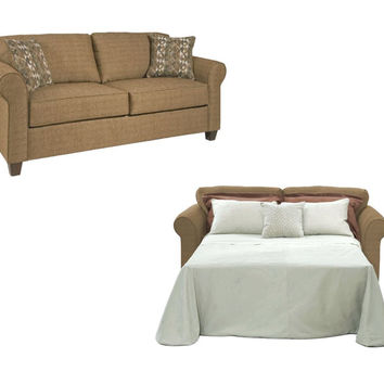 Burbank Henna Queen Sleeper Sofa by Serta Upholstery
