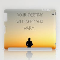 Try Not to Worry... iPad Case by RichCaspian