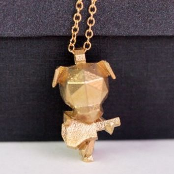 Dog Musician Necklace - SHIPS 2/18