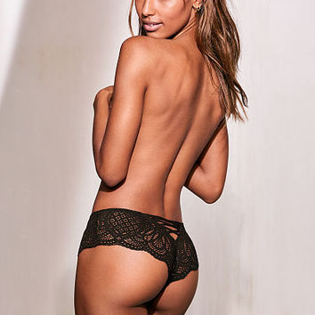 Lace-up Cheekster Panty - Dream Angels - Victoria's Secret