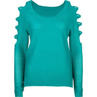 PRETTY REBELLIOUS Womens Cold Shoulder Sweater 202835241   Sweaters & Cardigans   Tillys.com