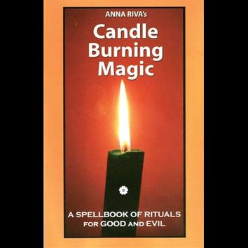 Candle Burning Magic - A Spellbook by Anna Riva