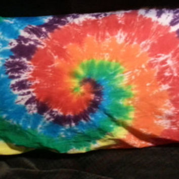 Hand Dyed Tie Dye Pillow Cases (2 matching pillow cases) | 100% Cotton | Select Size