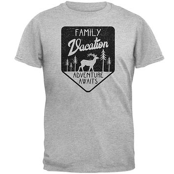 Family Vacation Adventure Awaits Mens T Shirt
