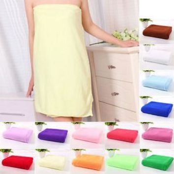 New 2016 Microfibre Bath Towel Soft Absorbent Drying Hair Shower Beach Travel Gym Free Shipping