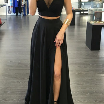 2016 new fashion women simple summer dresses sexy spaghetti strap backless crop top night club dresses two pieces outfit