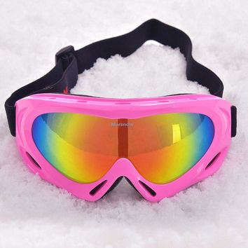 Big Lens Snowboard Goggles Men Women Anti fog UV400 Cycling Sunglasses Skate Ski Sunglasses Eyewear Snow Ski Goggles