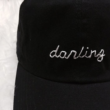 Darling Embroidered Baseball Cap