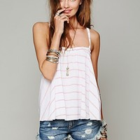 Free People Yarn Dye Swing Top