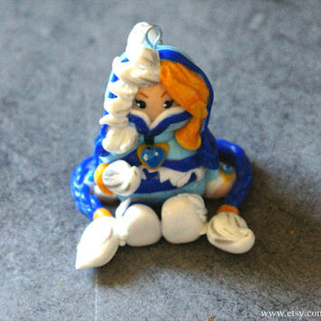 Dota 2 Crystal Maiden with Snowdrop set Keychain/Ornament