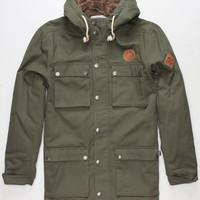 KEY STREET Canterbury Mens Parka | Jackets