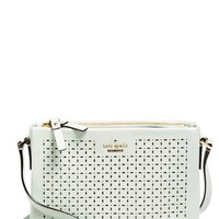 kate spade new york 'milton lane - lilibeth' perforated leather crossbody bag | Nordstrom