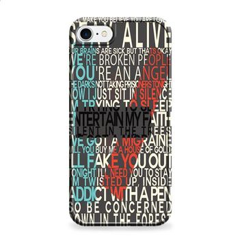 Twenty one pilots lyric iPhone 6 | iPhone 6S case