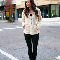 Soft And Sweet Teddy Bear Sherpa Jacket