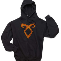 Angelic power Fire Runes The Mortal Instrument Unisex Hoodie S to 3XL