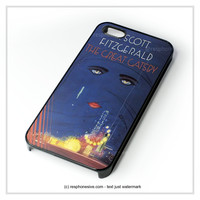 Cover Book The Great Gatsby iPhone 4 4S 5 5S 5C 6 6 Plus , iPod 4 5 , Samsung Galaxy S3 S4 S5 Note 3 Note 4 , HTC One X M7 M8 Case