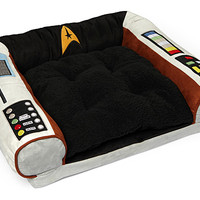 Star Trek Captain's Chair Pet Bed