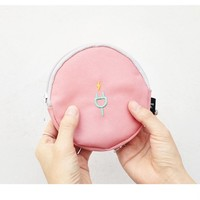 Baby Pink Charger Pouch