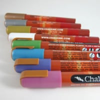 Chalk Ink Markers - Metallic Colors Set of 8