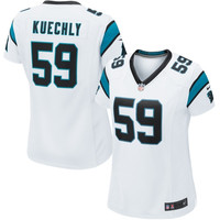 Luke Kuechly Carolina Panthers Nike Women's Game Jersey – White