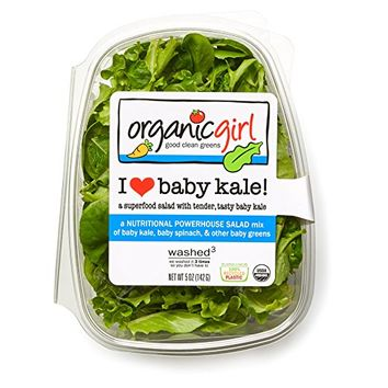 Organicgirl I Love Baby Kale Greens, 5 oz Clamshell