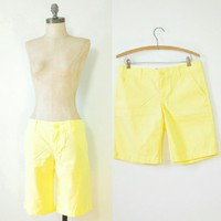 Lilly Pulitzer Yellow Bermuda Shorts Yellow Shorts