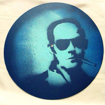 Hunter S. Thompson on vinyl