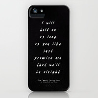 Mumford & Sons - Ghosts That We Knew II iPhone Case by Zyanya Lorenzo | Society6