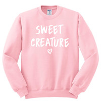 "Harry Styles ""Sweet Creature"" Heart Crewneck Sweatshirt"