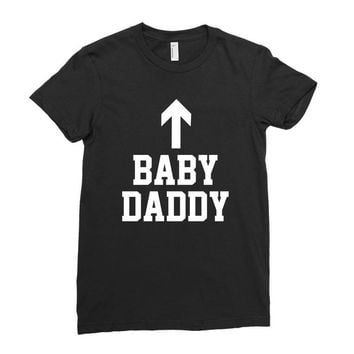 baby daddy funny new Ladies Fitted T-Shirt