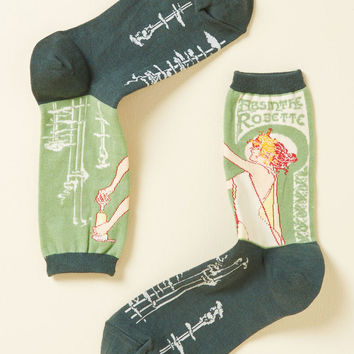 Be Distill My Heart Socks