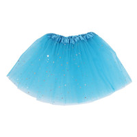 Cute Fluffy Sequins Flash Dance Tutu Skirt Baby Girls Skirts Kid Girls Princess Skirt Dance Wear Party Clothes LH7s 1-5Y