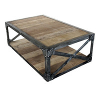 Scaffolding Coffee Table